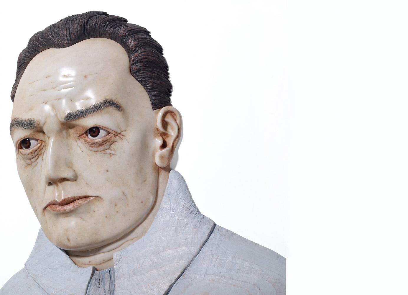 Niklas Klotz, marble, wood