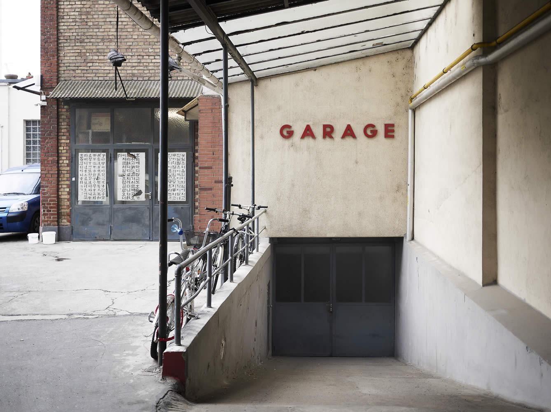 Garage, Hohenstaufenstr., Frankfurt