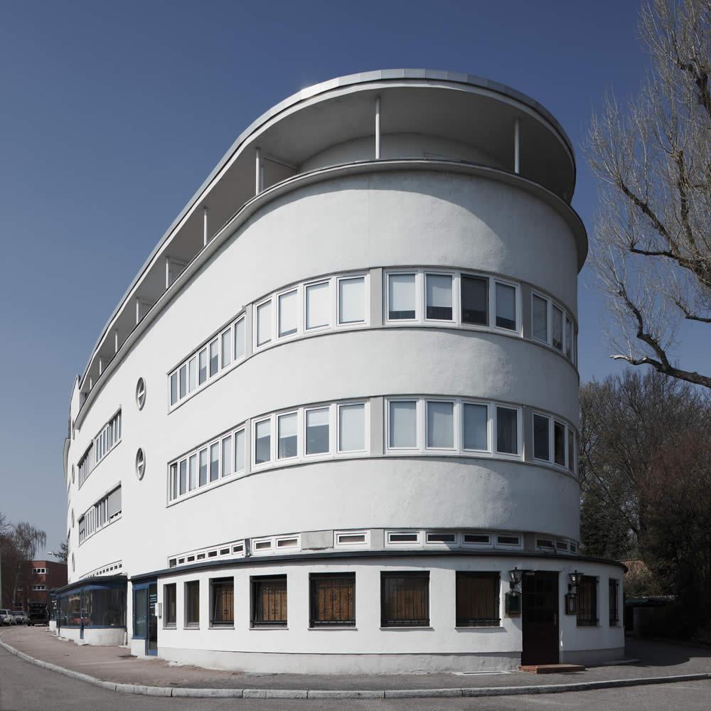 Römerstadt, Ernst May Siedlung, Ende 20er Jahre, Frankfurt