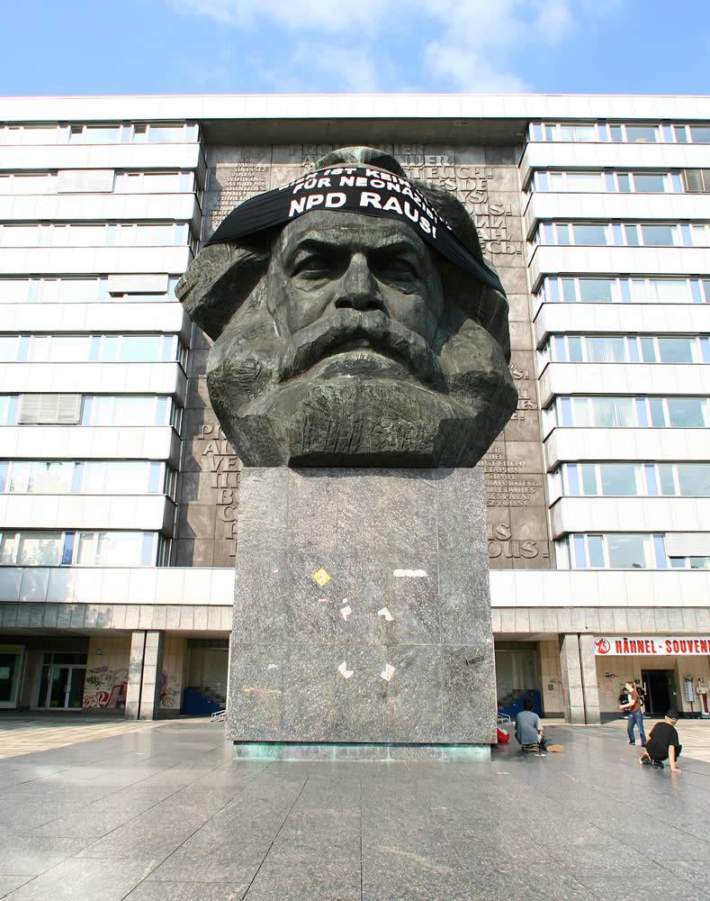 Karl Marx Platz, Chemnitz