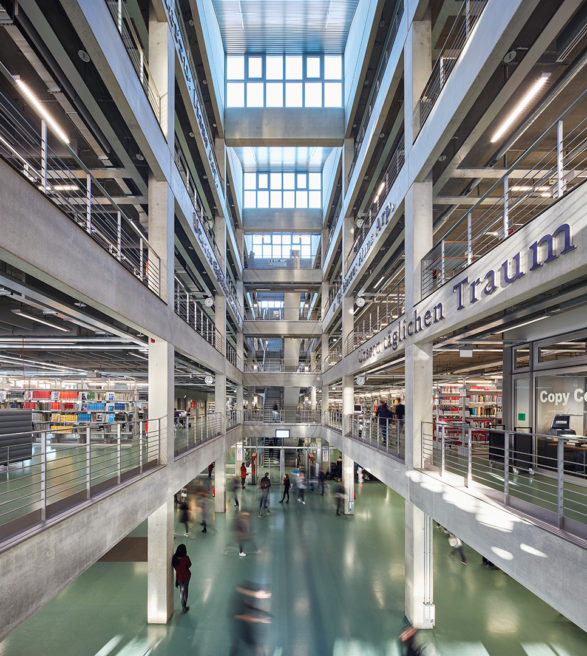 UDK & TU Berlin, Library